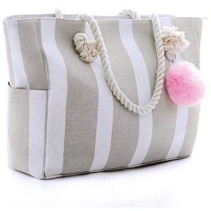 NWT✨ Torry Large Canvas Shoulder/Beach Bag